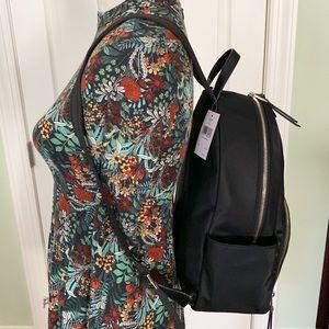 kate spade Bags - Kate spade Large Backpack dawn black nylon NWT